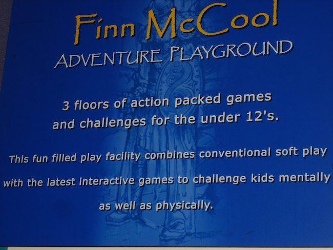 Finn McCool Playground, Portrush, Northern Ireland