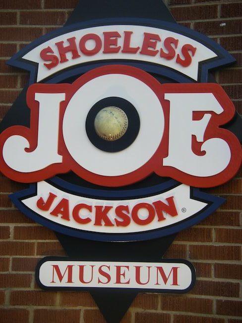 Shoeless Joe Jackson Museum in Greenville SC