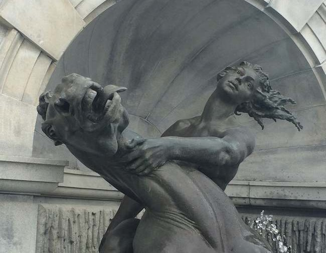 European style sculpture in Washington DC