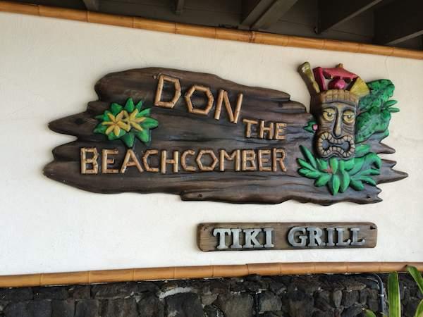 Hawaii tiki sign