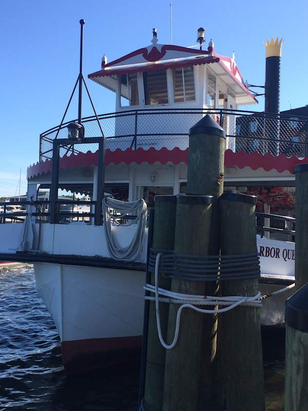 sail the Harbor Queen around Chesapeake Bay Maryland