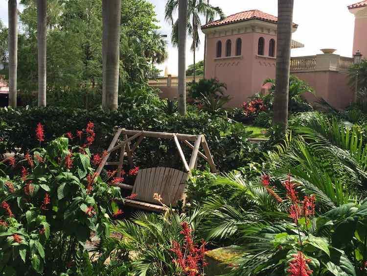 romantic setting at Boca Resort Florida