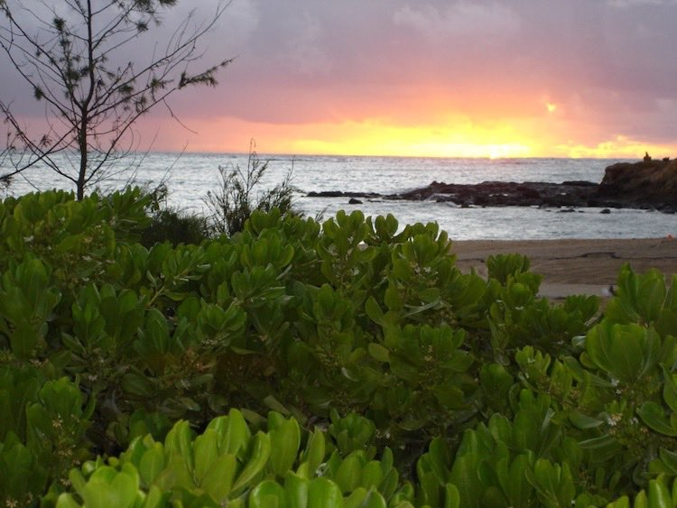 sunrise and sunset photos: Lanikai Beach, Oahu, Hawaii