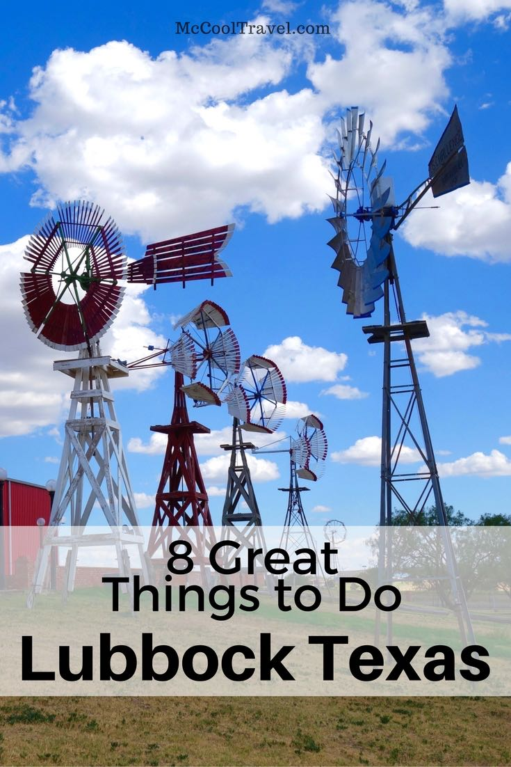 There are countless things to do in Lubbock, Texas. Lubbock is home to Texas Tech University, several outstanding museums, great restaurants, and much more.