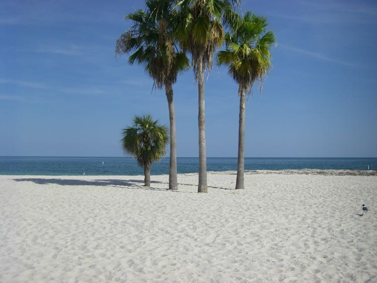 scenic drives in Florida: Sombrero Beach in Florida Keys