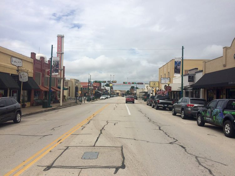 things to do in Grapevine Texas: Historic Grapevine downtown Main Street