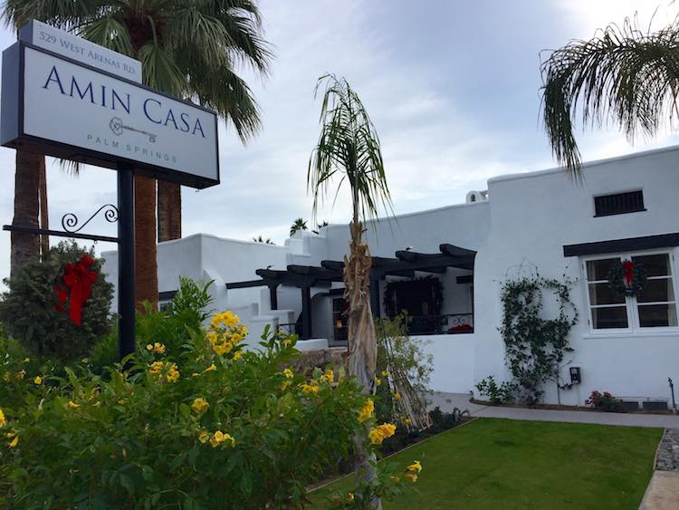 Amin Casa: Relaxed Luxury in Palm Springs, California.