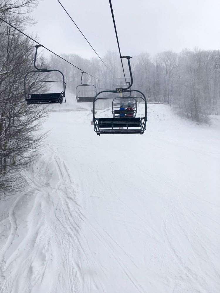 ski lift at Canaan Valley ski resort
