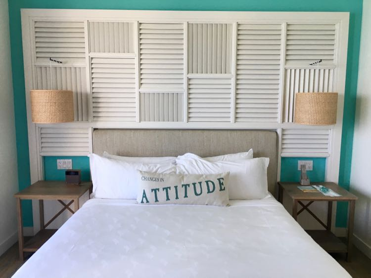 Margaritaville Hollywood Beach Resort: clean and comfortable bed