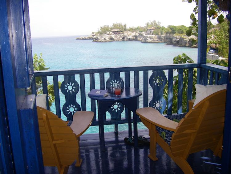 romantic Caribbean hotels: The Caves Resort in Negril, Jamaica