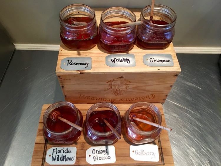 the honey at Omni Amelia Island Plantation Resort is made on site