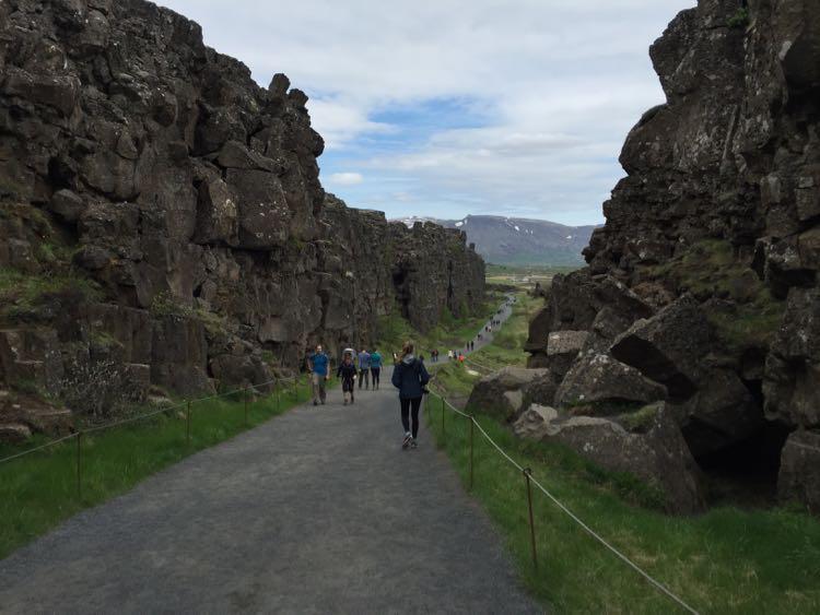 Thingvellir National Park rift