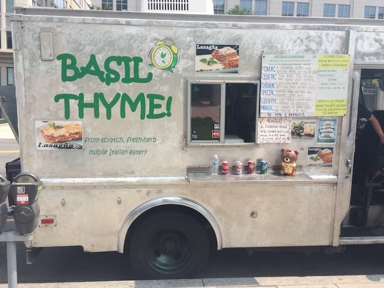 Basil Thyme food truck