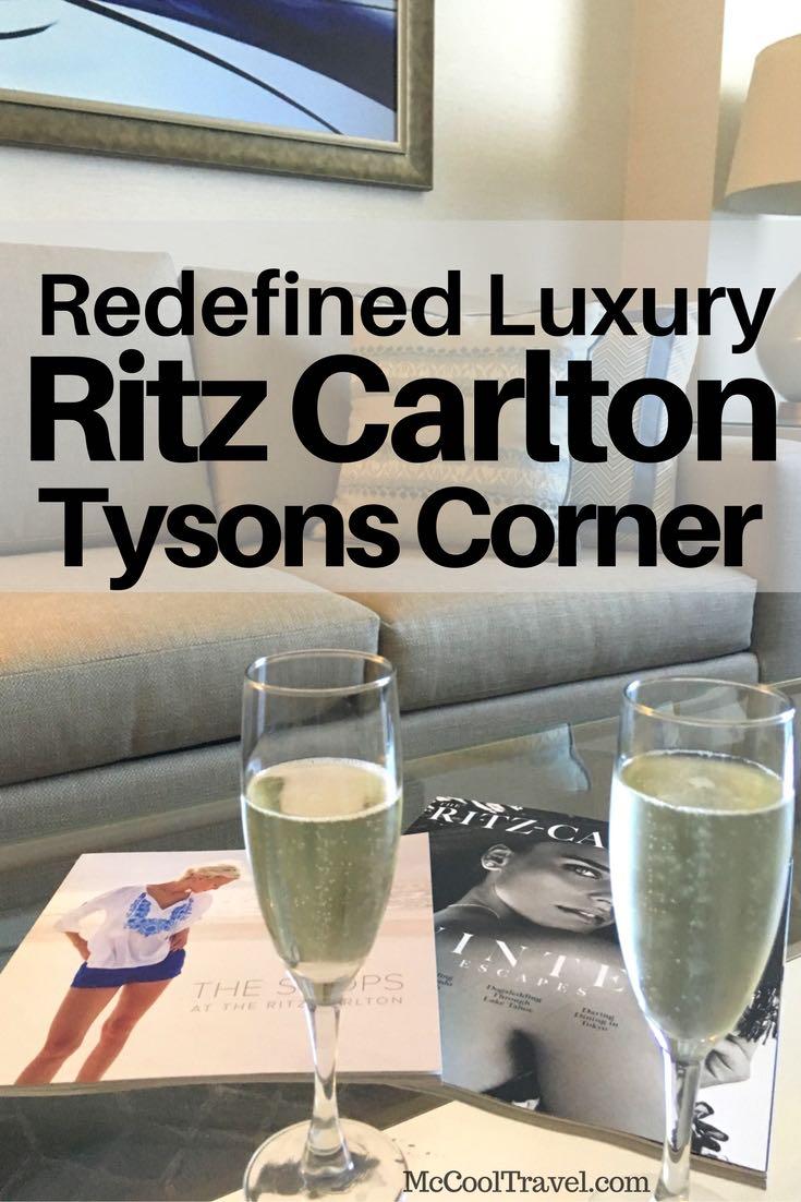 Ritz Carlton Tysons Corner redefines luxury in Northern Virginia and metro DC | #luxurytravel