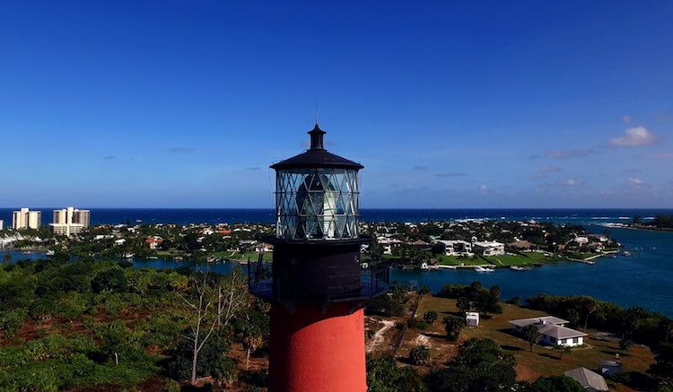 Jupiter Inlet Lighthouse - Photo by Jack Hardway