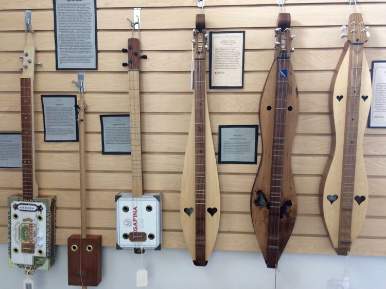 local artisan wooden musical instruments in Crozet VA