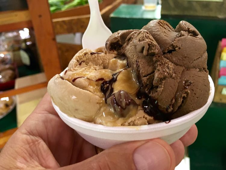 Great Ice Cream Places in US to Cool Off. Article and photo by Charles McCool for McCool Travel.