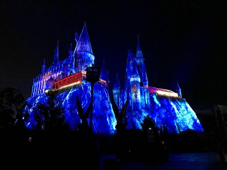 Hogwarts Castle, Harry Potter Christmas, Universal Orlando Florida
