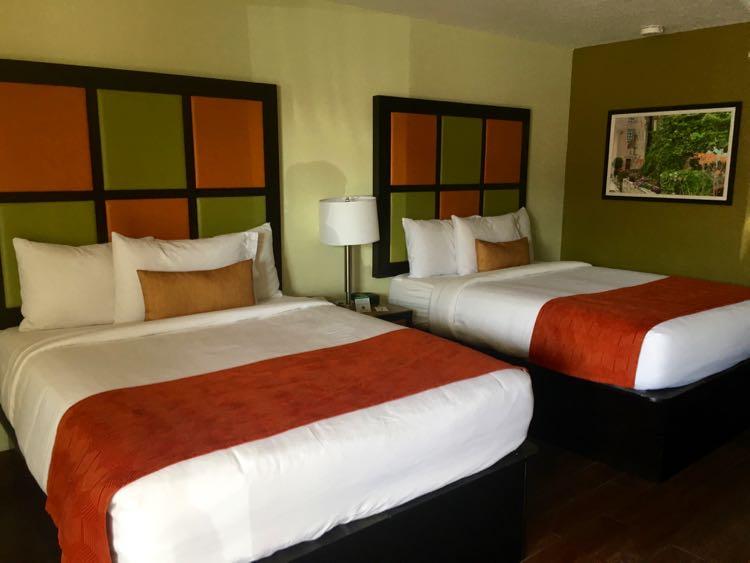 The Flagler Inn hotel room
