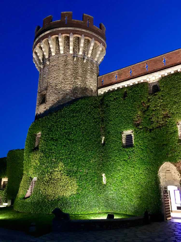 places to visit in Costa Brava Spain: Castel Peralada. Article and photo by Charles McCool for McCool Travel