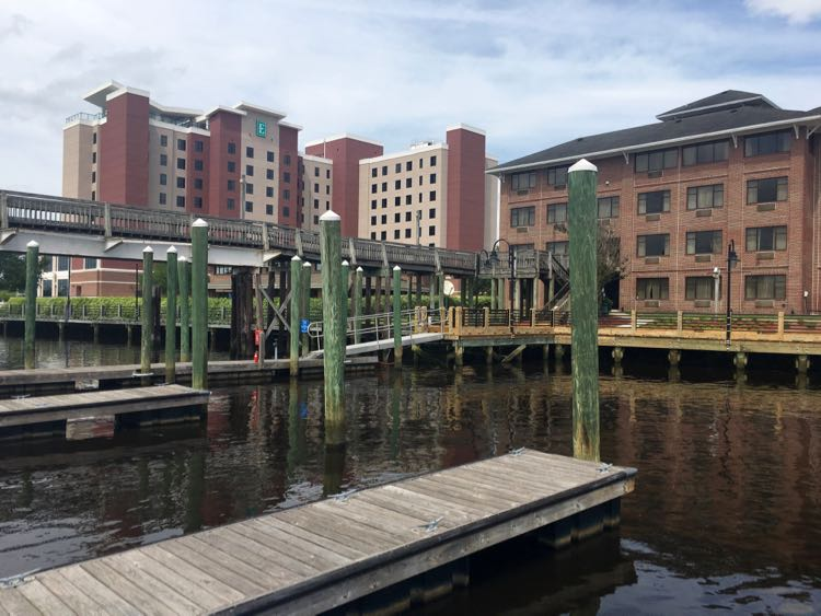 Embassy Suites in Wilmington NC Riverfront is a convenient place to stay