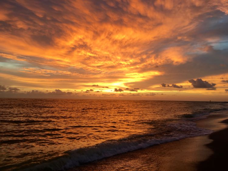 glorious Captiva island sunset at South Seas Island Resort