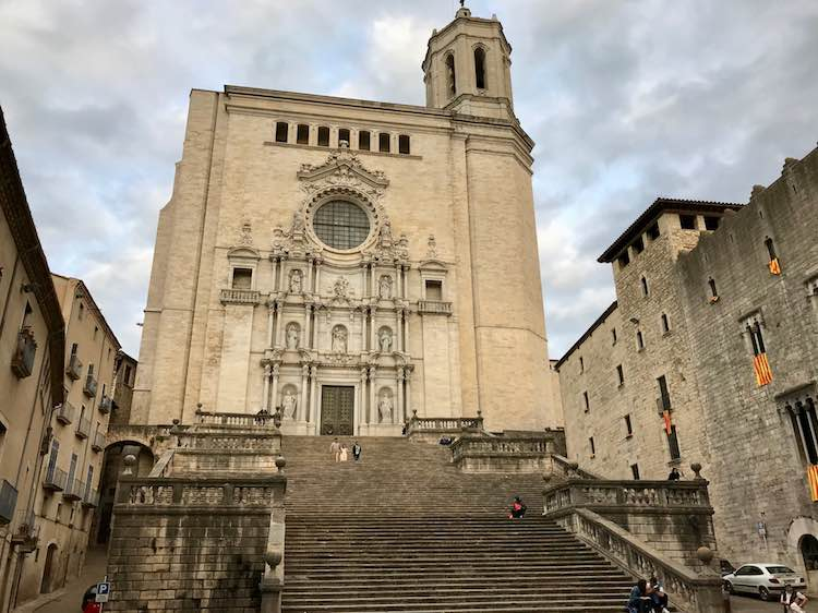Sept of Baelor from Game of Thrones in Girona Spain