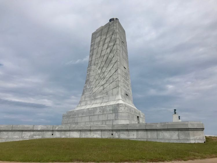 Explore aviation history at the Wright Brothers Memorial, Kitty Hawk NC