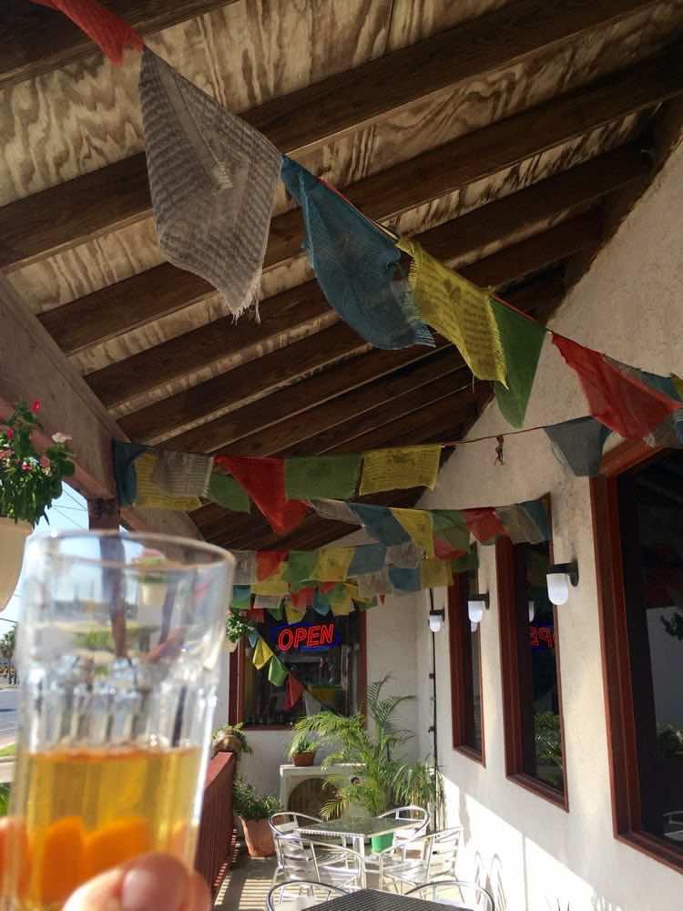 Tibetan prayer flags at Padre Island Brewing SPI