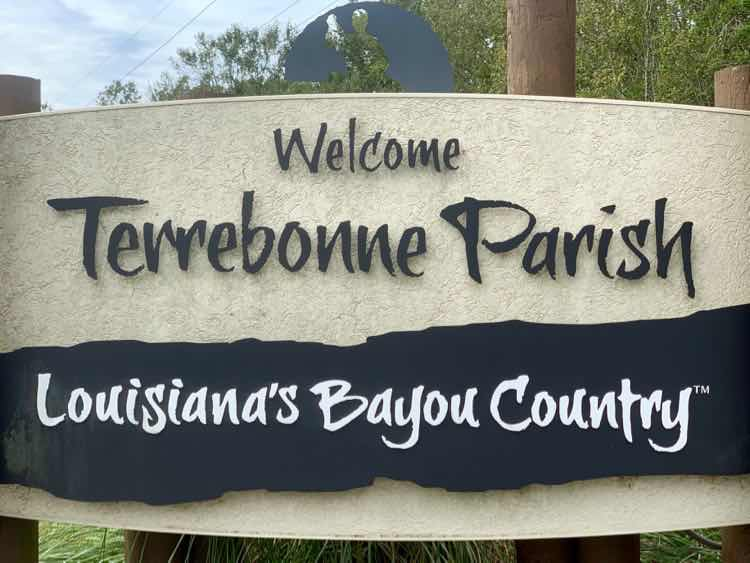Louisiana's Bayou Country sign