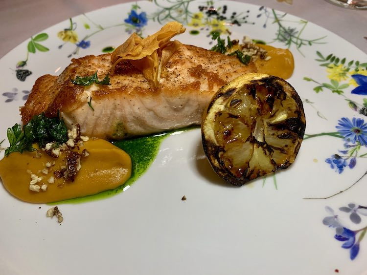 Try the delicious salmon at Fia Restaurant in Buckhead, Atlanta GA
