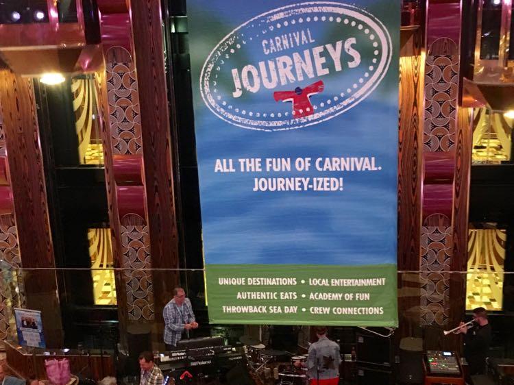 Carnival Journeys lobby banner