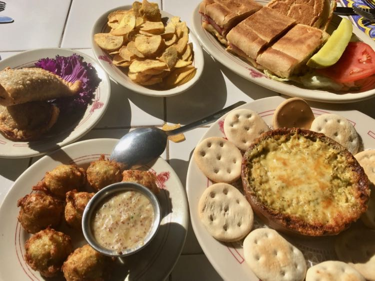 Spanish and Cuban food at Columbia Restaurant in Tampa