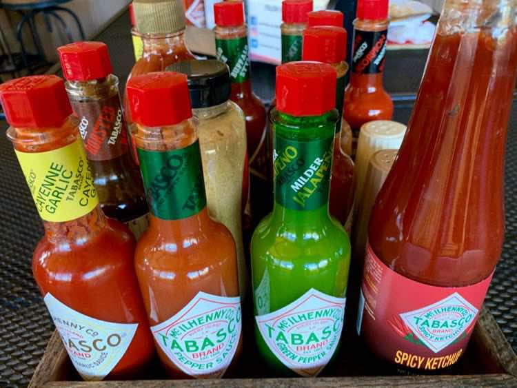different varieties of TABASCO