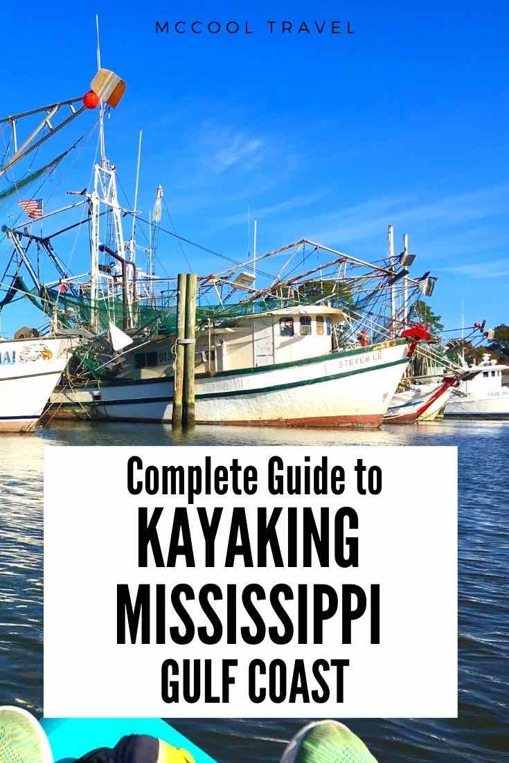Adventurous Coastal Mississippians and Secret Coast visitors love these Liquid Road Trip spots for kayaking in Mississippi on the Gulf Coast. #SecretCoast #MSCoastLife #kayaking #UStravel #thingstodo