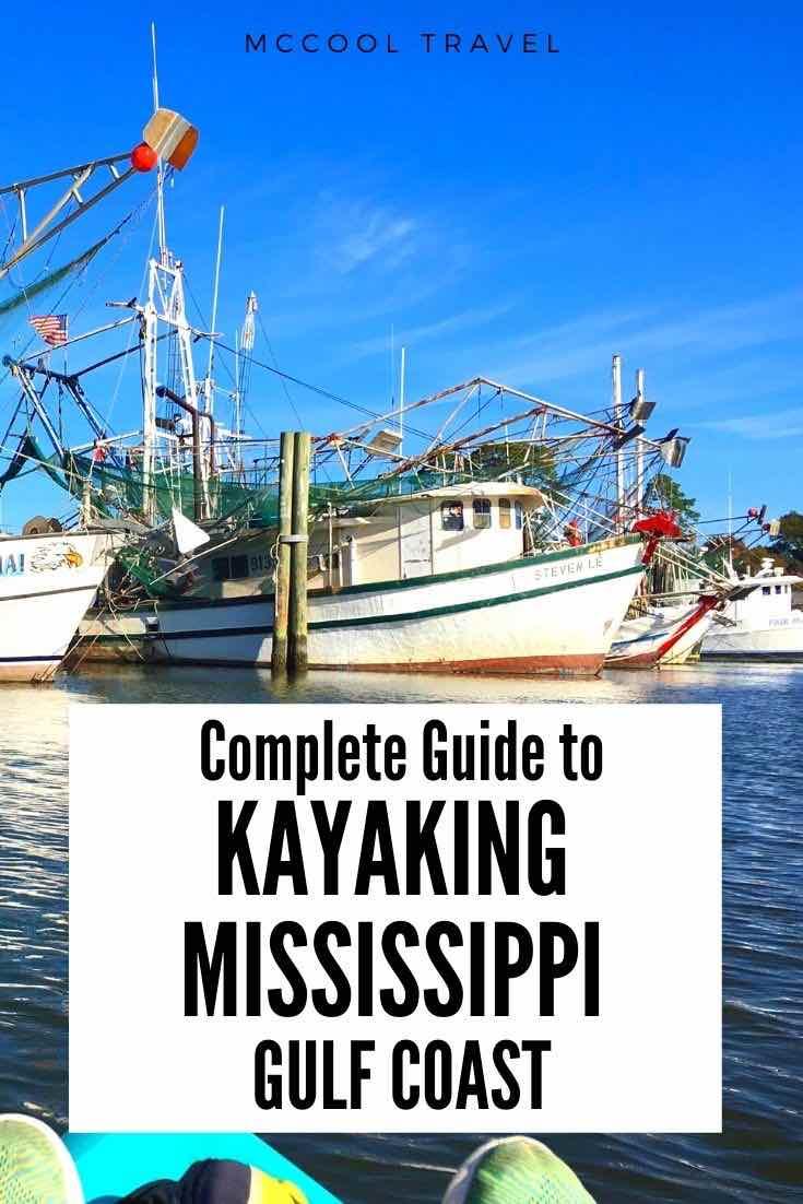 Adventurous Coastal Mississippians and Secret Coast visitors love these Liquid Road Trip spotsfor kayaking in Mississippi on the Gulf Coast. #SecretCoast #MSCoastLife #kayaking #UStravel #thingstodo