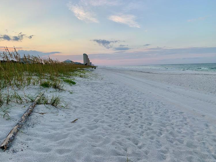 Panama City Beach hidden gem: Laguna Beach at sunrise