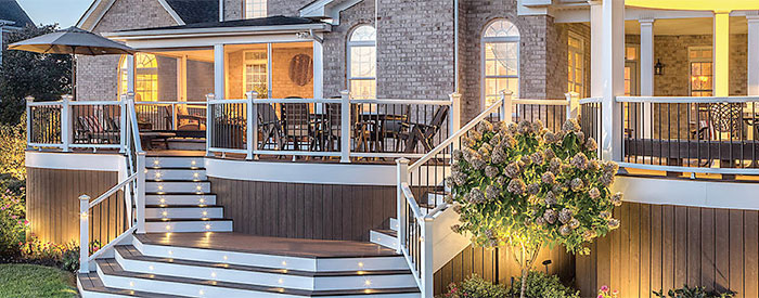 Get More From Your Deck With Trex Deck Lighting Mccray