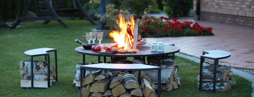 Fire Pit Inspiration for your Outdoor Living Area - McCray ... on Fire Pit Inspiration  id=40751