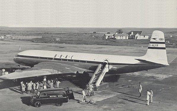 Entebbe Airport 1952 - 1962