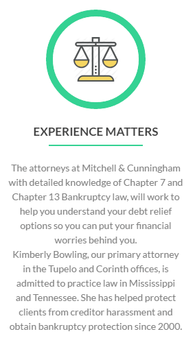Bankruptcy Experience Matters Info