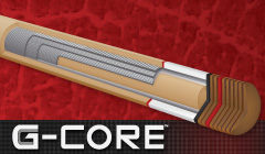 G-Core Low-Deflection Pool Stick Shafts