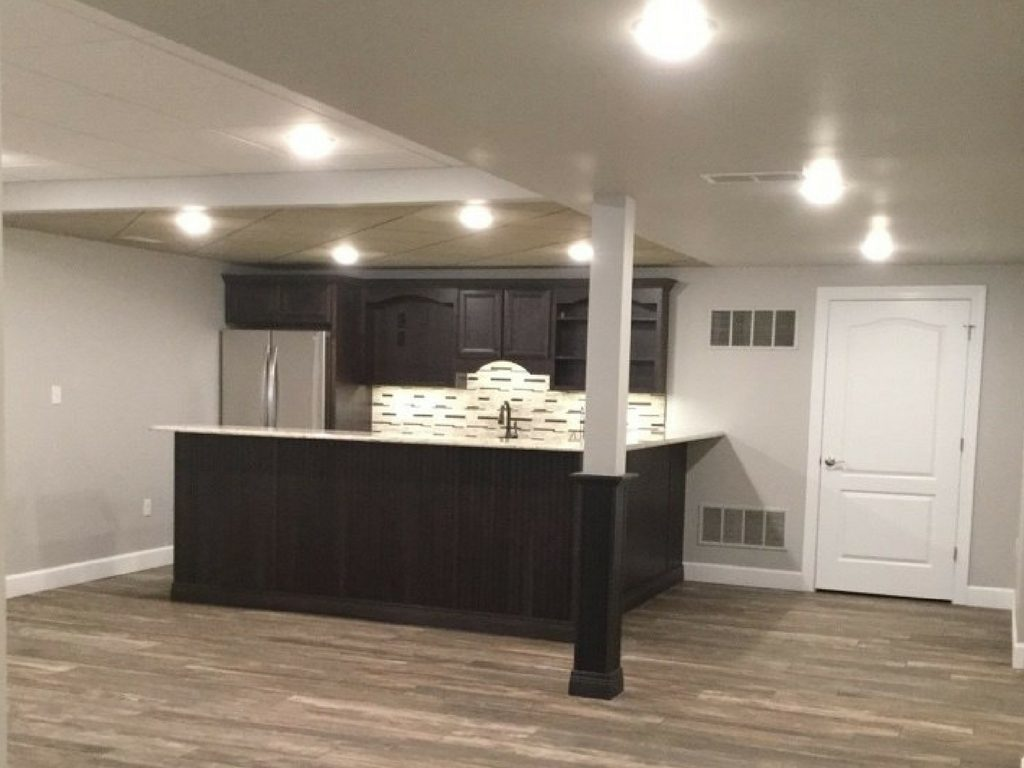 Where the Fun Is: Basement Wet Bar Ideas in St. Louis on Small Wet Bar In Basement  id=56717