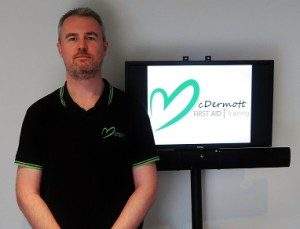 David McDermott, Owner of McDermott Aid Training