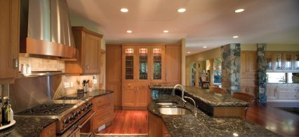 Bistro Kitchen remodel on the St. Croix river MN and WI