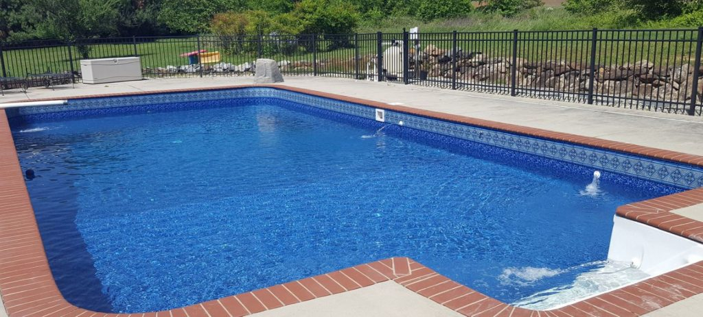 Mcdowell In Ground Swimming Pool Liner Pattern Inground