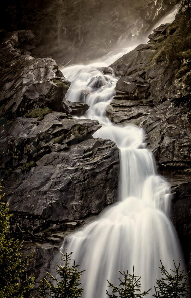 057 austria tirol krimler waterfall-Edit