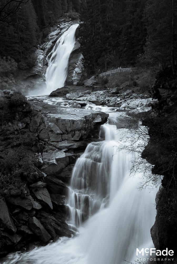 164 austria tirol krimler waterfall