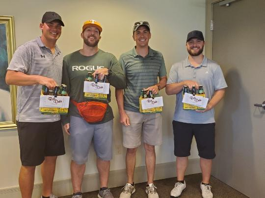 2020 Winning Golf Outing Team from Hopedale Agri Center, Inc.