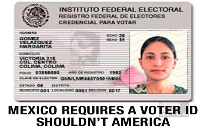 Mexican voter ID